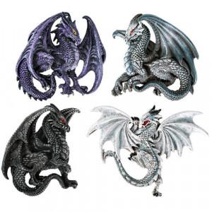 Set patru magneti frigider Dragon 6cm