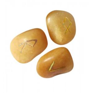 Set rune geme Quartz auriu