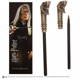 Set semn de carte si pix licenta Harry Potter - Lucius Malfoy