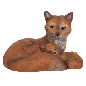 Set statuete Familia de Vulpi - mami si copil