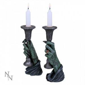 Set suporturi lumânări Lumină în întuneric