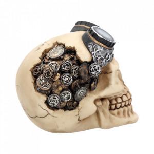 Statueta craniu Ochelari steampunk 15 cm