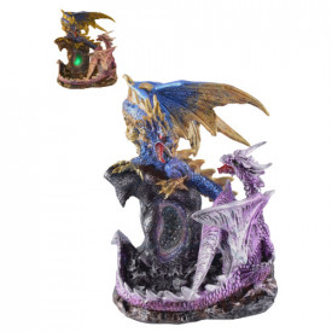 Statueta cu led Dragoni 16cm