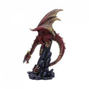 Statueta dragon Hear Me Roar (rosu)