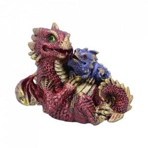 Statueta dragonei Dragonling Rest (Rosu) 11.3cm