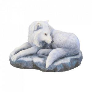 Statueta lup Gardianul Nordului 19.5 cm Lisa Parker