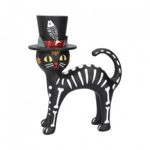 Statueta Pisica cu palarie 20.7 cm