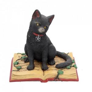 Statueta pisicuta neagra Eclipse 12 cm