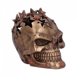 Statueta steampunk craniu Orion 14cm