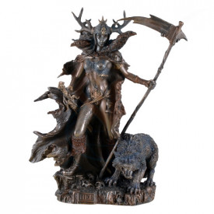 Statueta zeita nordic Hel, zeita lumii de dincolo 27cm