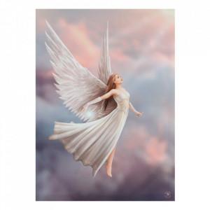 Tablou canvas, Ascensiunea Ingerului, 50x70cm - Anne Stokes