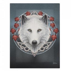 Tablou canvas Gardianul Toamnei 19x25cm - Lisa Parker