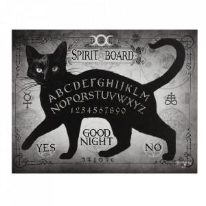 Tablou canvas Pisica neagra 25x19cm