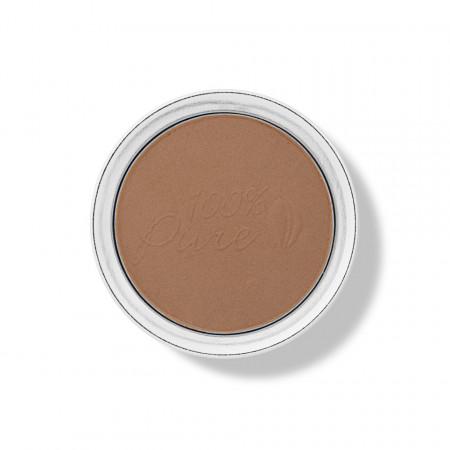 Fond de ten - pudră cu protecţie solară SPF 15 - 6 Cocoa