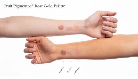 Paleta cu nuante pentru ochi si obraji - Rose Gold