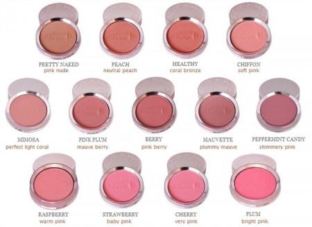 Fard de obraz cu pigmenţi din fructe – Chiffon (roz pal)