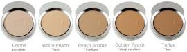 Fond de ten - pudră cu protecţie solară SPF 15 - 5 Golden Peach