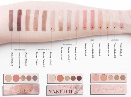 Paletă cu nuanţe naturale pentru ochi şi obraji Pretty Naked