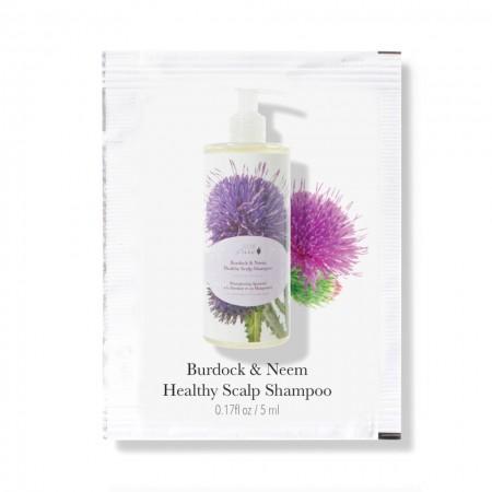 Esantion plic sampon cu brusture & neem pentru un scalp sanatos