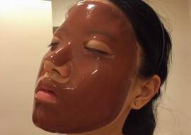 Masca faciala cu cofeina