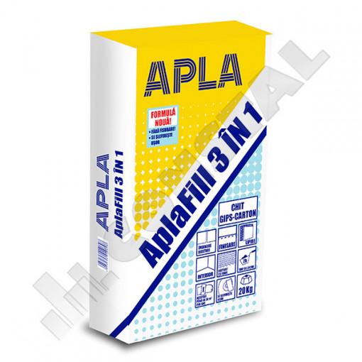 CHIT PENTRU GIPS-CARTON APLAFILL 3 IN 1 - 20 KG