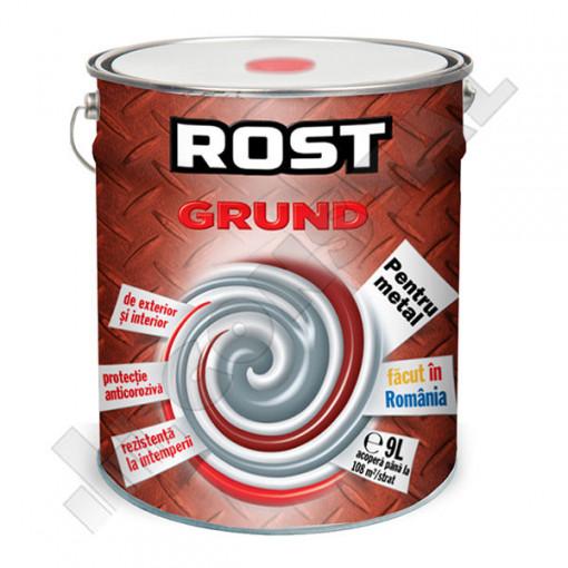 GRUND PENTRU METAL ROSU OXID ROST 9 L