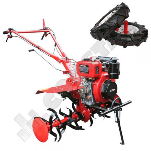 MOTOCULTOR DIESEL 7CP H105E ENERGO + ROTI CAUCIUC