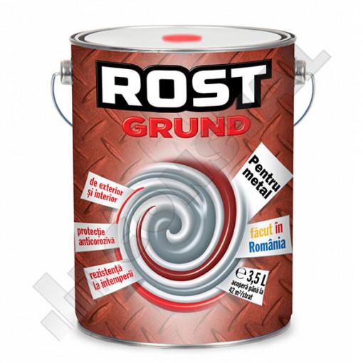 GRUND PENTRU METAL ROSU OXID ROST 3.5 L