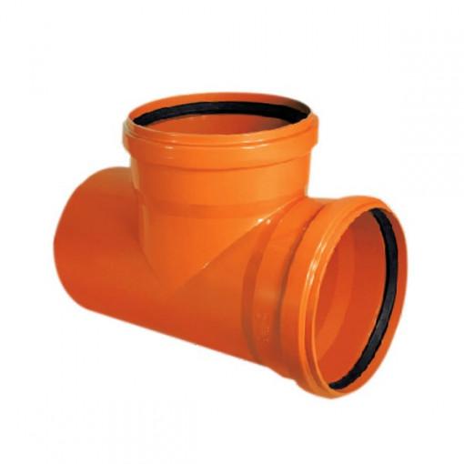 RAMIFICATIE PVC CU INEL ETANSARE 125/125-87 (KGEA)
