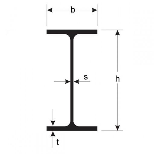 PROFIL OTEL LAMINAT IPE - 140 mm