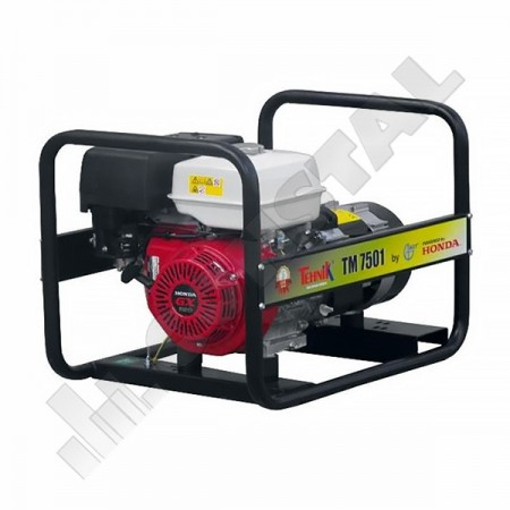 GENERATOR CURENT 230V 6.4KVA HONDA GX390 6.1 L TM7501 ENERGO