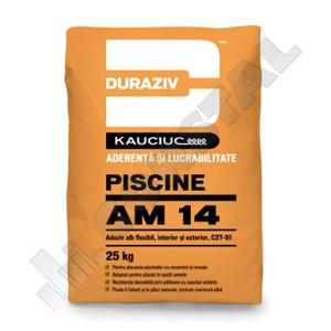 ADEZIV ALB PISCINE DURAZIV AM 14 CU KAUCIUC - 25 KG