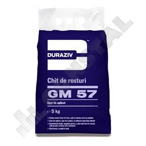 CHIT DE ROSTURI GRESIE SI FAIANTA DURAZIV GM 57 - 5 KG