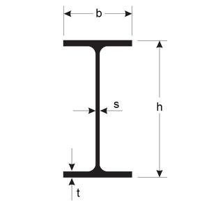 PROFIL OTEL LAMINAT IPE - 180 mm