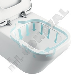 VAS WC SUSPENDAT IDEAL STANDARD TESI AQUABLADE T007901