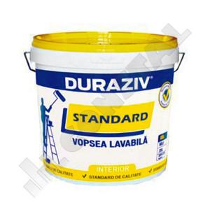 DURAZIV STANDARD - VOPSEA LAVABILA ALBA 25L