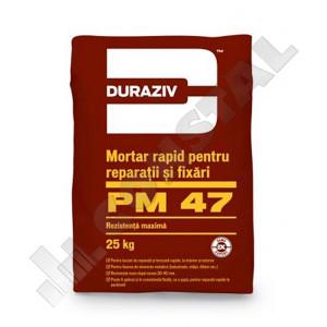 MORTAR REPARATII SI FIXARI DURAZIV PM 47 - GAMA EXPERT - 25 KG