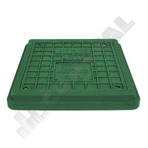 CAPAC CANALIZARE COMPOZIT 494x545 Verde A15