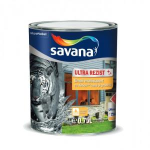 EMAIL SAVANA CU TEFLON (BAZA APA) ALB 0.75 L