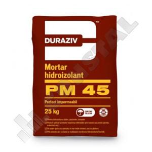 MORTAR HIDROIZOLANT DURAZIV PM 45 - GAMA EXPERT - 25 KG