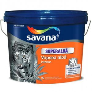 VOPSEA SAVANA SUPERLAVABILA SUPERALBA 2.5 L