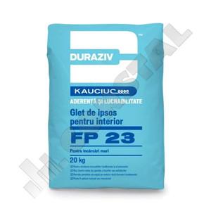 GLET DE IPSOS INTERIOR cu Kauciuc DURAZIV FP 23 - 5 KG
