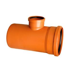 RAMIFICATIE PVC CU INEL ETANSARE 125/110-87 (KGEA)