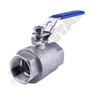 ROBINET INOX CU SFERA CORP 2B PN40/63-1 1/2 TOLI INV