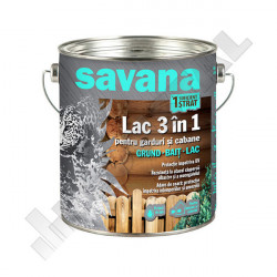 LAC SAVANA 3 IN 1 TEAK EXTERIOR 0.75 L