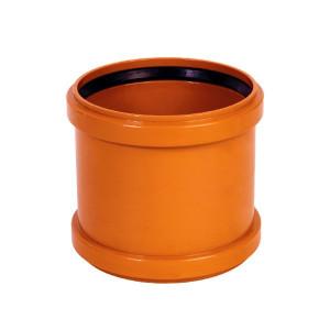 MUFA REPARATIE PVC CU INEL ETANSARE 125 (KGU)