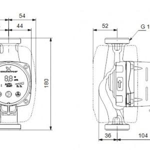 Pompa Circulatie Alpha 2L 25-40 GRUNDFOS