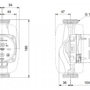 Pompa Circulatie Alpha3 25/60 - 180 GRUNDFOS