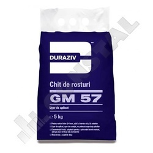 CHIT DE ROSTURI GRESIE SI FAIANTA DURAZIV GM 57 - 2 KG