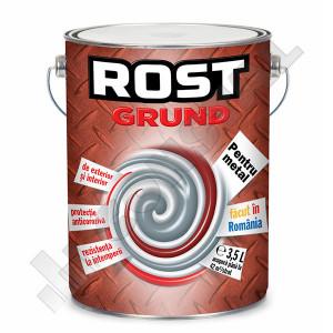 GRUND PENTRU METAL GRI ROST 3.5 L